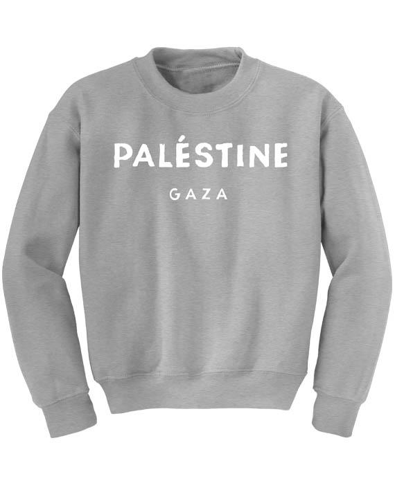 7db599f8bc9 Home / Clothing / Sweatshirts / Palestine Gaza Sweatshirt